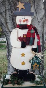 craft sewn snowman