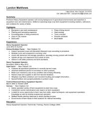 Best Solutions Of Heavy Equipment Mechanic Resume Amazing Best Heavy ...