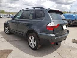 Bmw x3 2008 in excellent condition. 2008 Bmw X3 3 0si Front End Damage Wbxpc93418wj19633 Sold