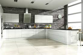 fitted kitchens ideas. Linear Handleless White Hi-Gloss Kitchen | Fitted Kitchens Betta Living Ideas