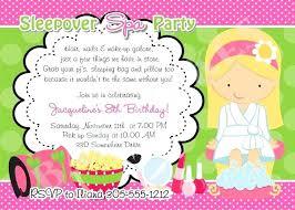 Girl Spa Party Invitations Pamper Invite Template Free Danielmelo Info