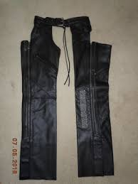 Harley Davidson Leather Chaps Size Chart Harley Davidson Womens Deluxe Leather Motorcycle Chap Black