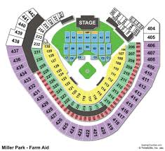 Miller Park Interactive Seating Chart 2019