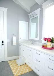 gray and yellow bathroom rugs yellow and grey bath rugs light grey wall color with nice gray and yellow bathroom rugs