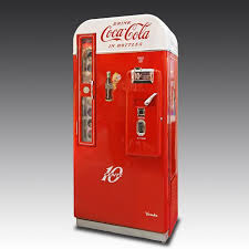 Vintage Coke Vending Machine Impressive Vintage CocaCola Machine The Games Room Company