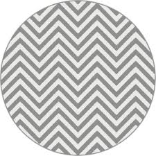 gray round contemporary area rug decorations photo rugs and white lumini grey striped design modern frieze brown black carpet silver fluffy small floor