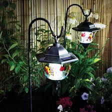 solar hanging lanterns set of 2