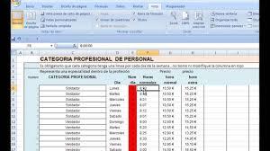 Como Calcular Horas Extras En Excel Paso A Paso Parte 1 Calcular Horas Extras En Excel