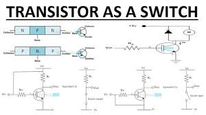 Transistor Configuration Comparison Chart Working Of Transistor As A Switch Npn And Pnp Transistors