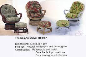 rattan coil base swivel rocker chair replacement cushion. wicker swivel rocking chelsea papasan chair with cream cushion · heritage house interiors rattan coil base rocker replacement y