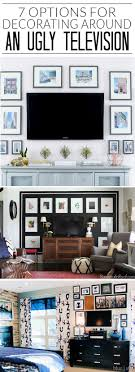 Tv Decorating Ideas Best 25 Tv Wall Decor Ideas On Pinterest Tv Decor Tv Stand