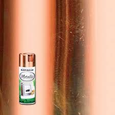 Metallic Copper Spray Paint-1937830 - The Home Depot