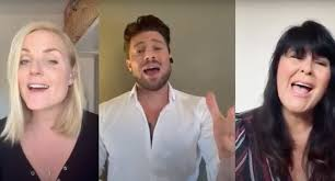 He is also known for playing ryan knight in hollyoaks. Blue Star Duncan James Teams Up With West End Star And Loose Woman For Cyndi Lauper Cover Retro Pop
