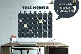 diy wall calendars wall calendar decoration chalkboard calendars for from digital wall calendar big wall calendar