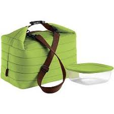 <b>Набор</b> Handy: <b>термосумка</b> и <b>контейнер</b>, <b>большой</b>, зеленый ...