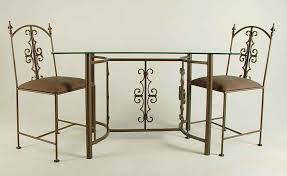 gothic dining table and chairs gothic wrought iron dining set