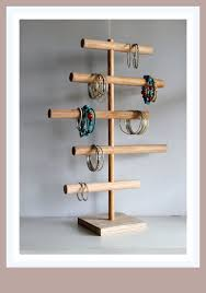 Bracelets Display Stands Five Tier Bracelet Holder Cascading Organizer Jewelry Display 5