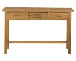 milton oak console table main image