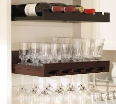 Pottery Barn Wall Shelves Ideas Pottery Barn Wine Rack For Stylish Organization To Your