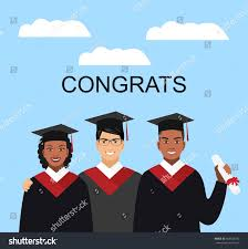 group students graduation gown diploma international stock  a group of students in graduation gown diploma international education concept