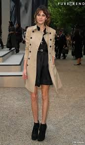wardrobe essentials how to wear a trench alexa chung dress event