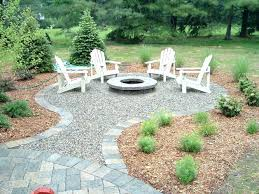 Backyard Fire Pit Landscaping Ideas Medium Size Of Patio With Fire