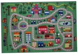play rug with roads childrens rugs cars 2