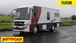 Small Picture Executive Motor Home Feature Autocar India YouTube