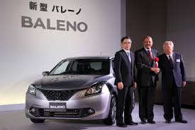 new car launches europe 2015Maruti to export Baleno to Japan EDIT Now Europe too  Page 2