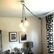 ceiling light without wiring how to hang a pendant lamp without hard wiring image result for ceiling light