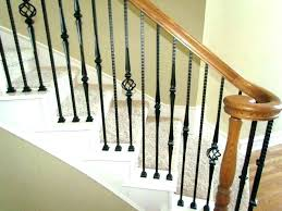 interior balcony railing kits beautiful railings ideas wood stair handrail home depot photo