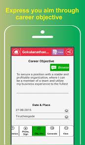 TAF My Resume Builder CV Free Jobs Cool Resume Maker App