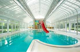 residential indoor pool with slide. Gallery Of Big Houses With Pools Slides Viewing Mansion Indoor Pool Waterslide Outside The Estate Residential Slide I