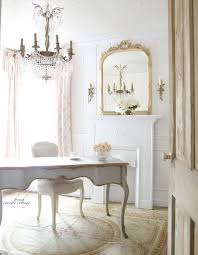 neutral office decor. a neutralcolored office with blush floral curtains and offwhite furniture neutral decor o