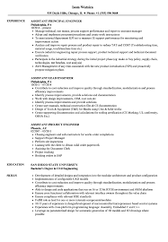 Assistant Principal Resume Sample Engineer Assistant Resume Samples Velvet Jobs 98