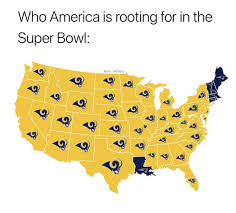 Image result for who america is rooting for  in super bowl