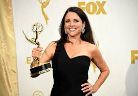 th anniversary look at top stars then and now julia louis dreyfus at an event for the 67th primetime emmy awards 2015