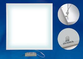 Ультратонкая светодиодная панель <b>Uniel ULP</b>-<b>6060</b>-<b>36W</b>/<b>4000K</b> ...