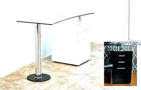 glass top table glass top office table chic table tops desks glass for office top desk glass top table