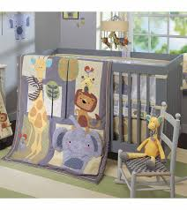 lambs amp ivy cornelius 4 piece crib bedding set