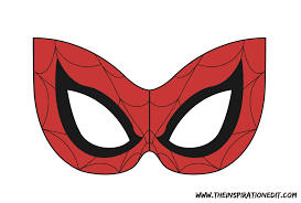 Spiderman Template Spiderman Mask With Free Template The Inspiration Edit