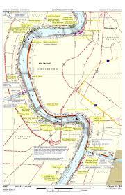 Lower Mississippi River Charts Mississippi River Chart 84 River Mile 90 5 105 1 Us