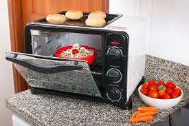 cooking food in the toaster oven