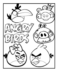 Free Printable Angry Bird Coloring Pages For Kids Drawing Ideas