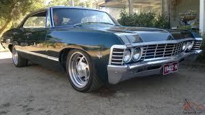 Impala 1967 Pillarless 4 Door Hardtop BBC 454 Turbo 400 9 Inch ...