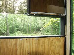 deer blinds window for plexiglass