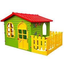 Spielhaus Holznaturverbundenheit Und Abenteuer Für Das Kind