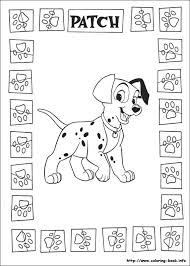 Small Picture 197 best 101 Dalmations coloring pages images on Pinterest