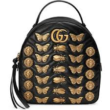 gucci backpack. gucci gg marmont animal studs leather backpack i