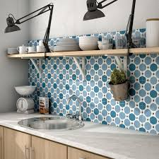 patterned tile is always a great way to add design to your kitchen ca colours in sapphire available at avalon flooring